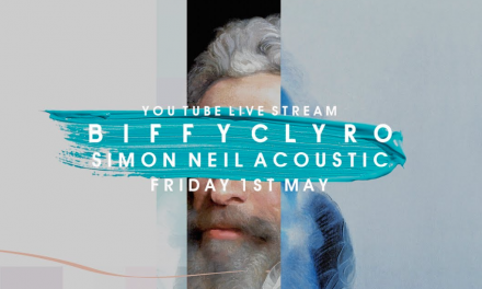 Biffy Clyro's Simon Neil Live Stream This Friday
