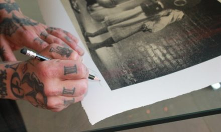 Dave Navarro (lifeafterdeath) Partners with Punk Rock & Paintbrushes For Release Of Limited Edition Signed Art Print More Government Care?