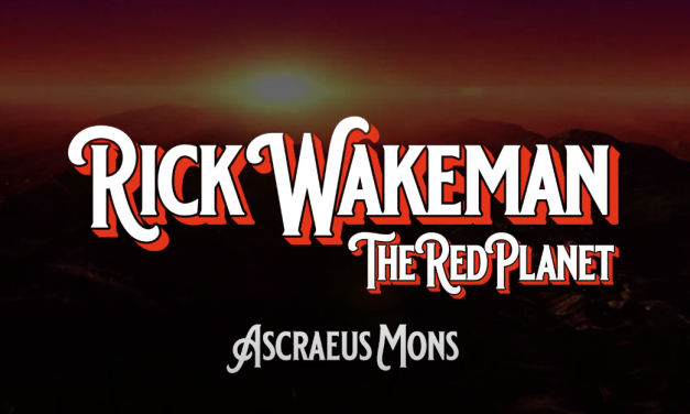 "Rick Wakeman Releases New Digital Single ""ASCRAEUS MONS"" From His New Album The Red Planet"