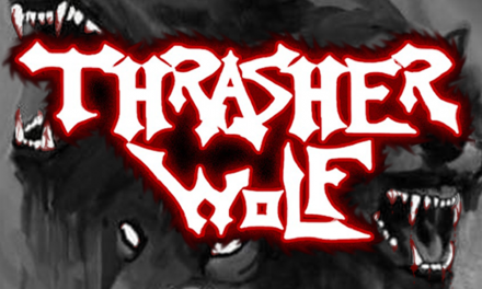 Thrasherwolf launch their new lyric video for 'The Vortex' – an explosion of riffs, venom and pure thrash intensity!